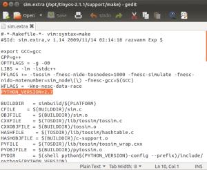 Python Configuration